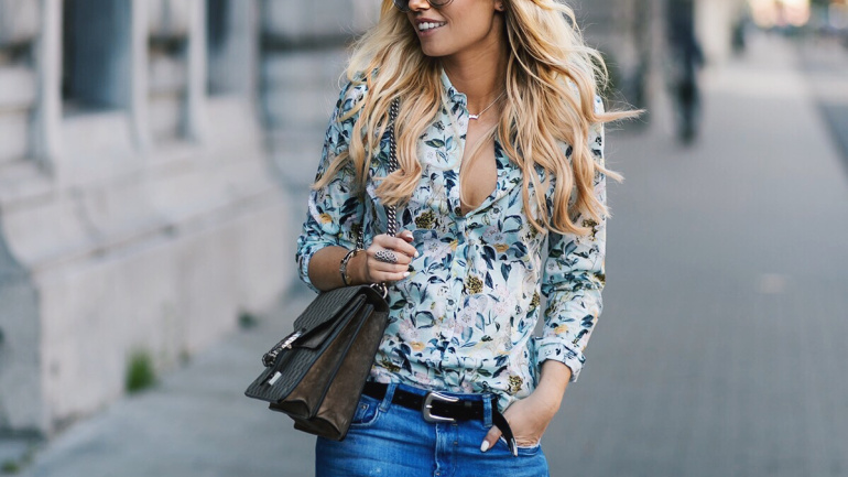 The floral shirt