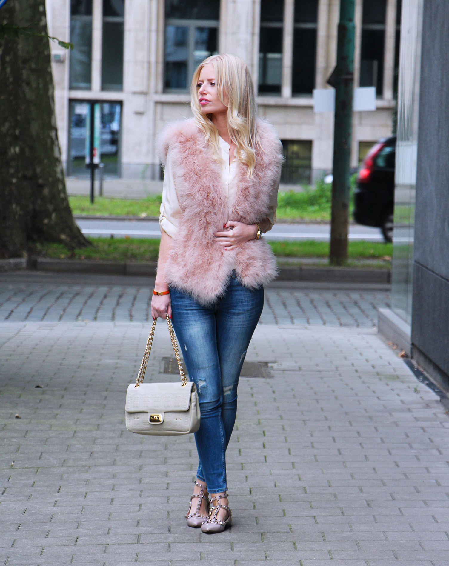 Outfit || The pink waistcoat