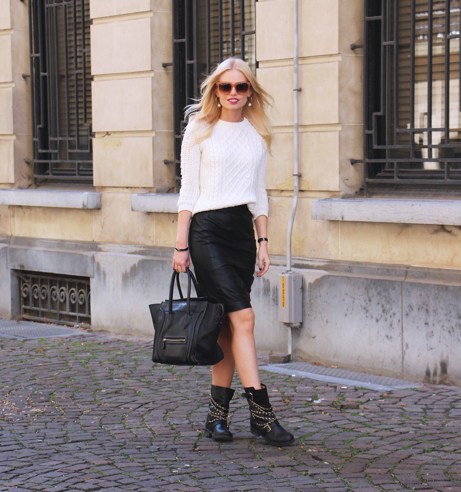 Outfit || Leather love