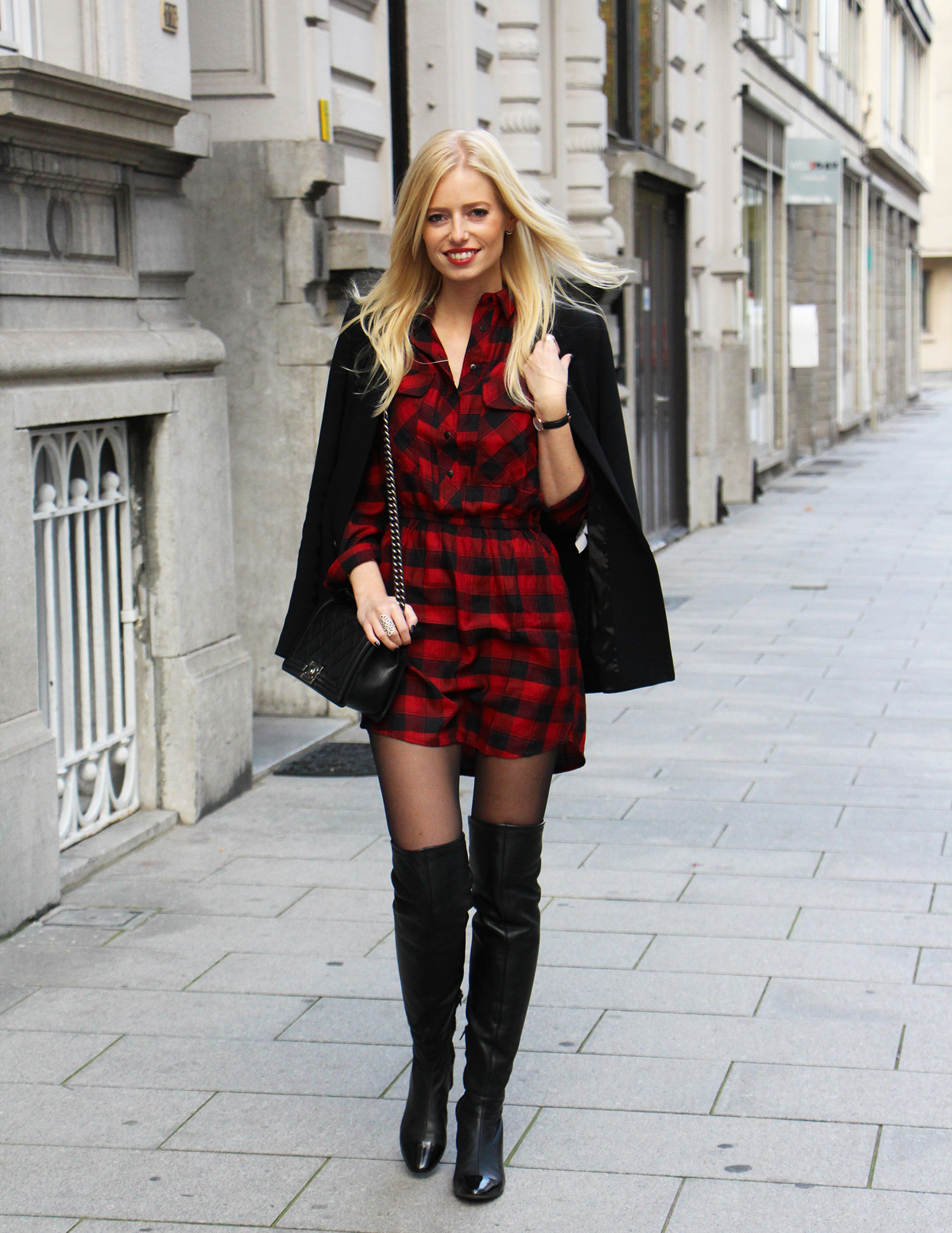 Outfit || Pretty plaids