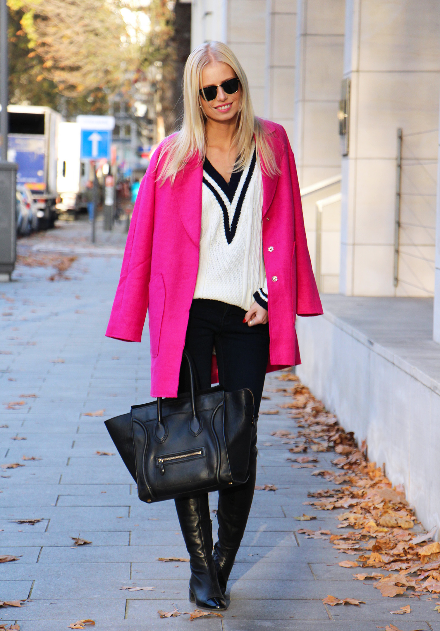 Outfit || Magenta love