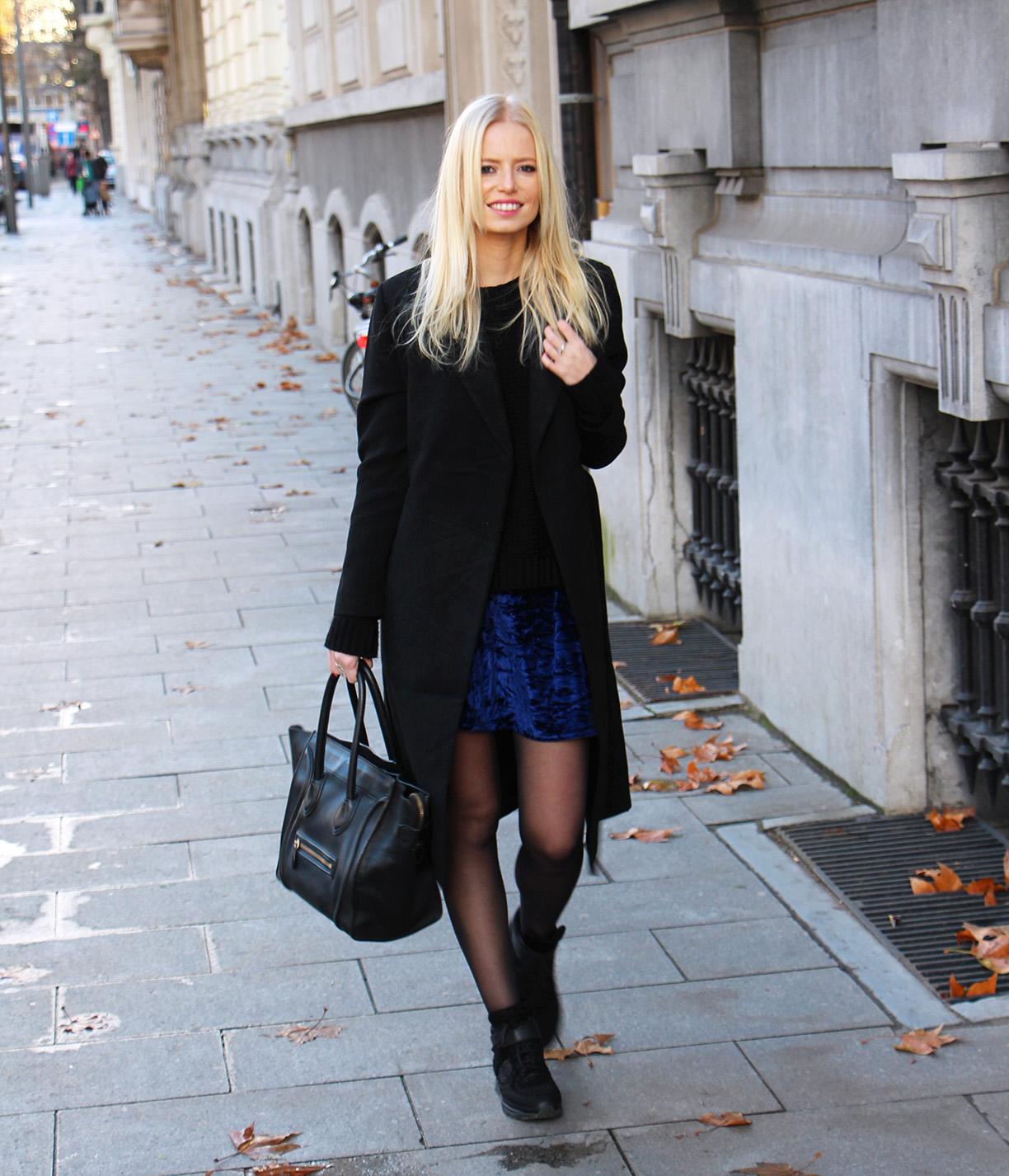 Outfit || Velvet Blue